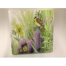 Marjolein Bastin 12 x 12 Canvas BUTTERFLY & BIRD