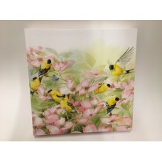 Marjolein Bastin 12 x 12 Canvas GOLDFINCHES