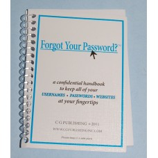 PASSWORD ORGANIZER FORGOT YOUR PASSWORD?