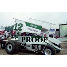 12 STEVE KLINE SPRINT CAR PHOTO 6-2-90 8 X 10