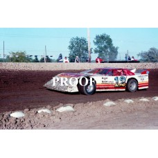 12 S TERRY SROUFE LATE MODEL CAR PHOTO 6-24-89 8 X 10