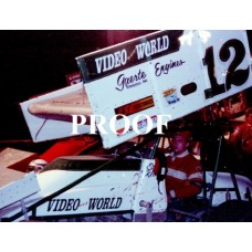 12 STEVE KLINE SPRINT CAR PHOTO 7-1-89 8 x 10